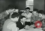 Image of war veterans United States USA, 1946, second 12 stock footage video 65675058770