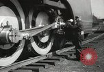 Image of New York Central Mercury locomotive designed by Henry Dreyfuss Harmon New York USA, 1936, second 4 stock footage video 65675058804