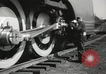 Image of New York Central Mercury locomotive designed by Henry Dreyfuss Harmon New York USA, 1936, second 5 stock footage video 65675058804