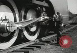 Image of New York Central Mercury locomotive designed by Henry Dreyfuss Harmon New York USA, 1936, second 6 stock footage video 65675058804