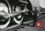 Image of New York Central Mercury locomotive designed by Henry Dreyfuss Harmon New York USA, 1936, second 7 stock footage video 65675058804