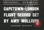 Image of Aviator Amy Mollison Croydon London England United Kingdom, 1936, second 1 stock footage video 65675058805