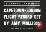 Image of Aviator Amy Mollison Croydon London England United Kingdom, 1936, second 3 stock footage video 65675058805