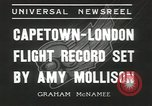 Image of Aviator Amy Mollison Croydon London England United Kingdom, 1936, second 4 stock footage video 65675058805