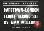 Image of Aviator Amy Mollison Croydon London England United Kingdom, 1936, second 8 stock footage video 65675058805