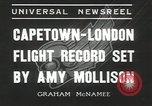 Image of Aviator Amy Mollison Croydon London England United Kingdom, 1936, second 10 stock footage video 65675058805
