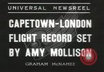 Image of Aviator Amy Mollison Croydon London England United Kingdom, 1936, second 12 stock footage video 65675058805