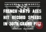 Image of Formula One Automobile Club's Grand Prix Montlhéry France, 1936, second 5 stock footage video 65675058812