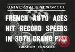 Image of Formula One Automobile Club's Grand Prix Montlhéry France, 1936, second 10 stock footage video 65675058812
