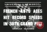 Image of Formula One Automobile Club's Grand Prix Montlhéry France, 1936, second 11 stock footage video 65675058812
