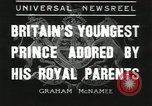 Image of Prince Edward London England United Kingdom, 1936, second 1 stock footage video 65675058813