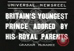 Image of Prince Edward London England United Kingdom, 1936, second 2 stock footage video 65675058813