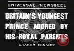 Image of Prince Edward London England United Kingdom, 1936, second 3 stock footage video 65675058813