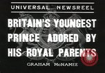 Image of Prince Edward London England United Kingdom, 1936, second 5 stock footage video 65675058813