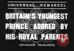 Image of Prince Edward London England United Kingdom, 1936, second 6 stock footage video 65675058813