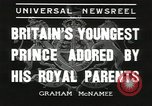 Image of Prince Edward London England United Kingdom, 1936, second 9 stock footage video 65675058813