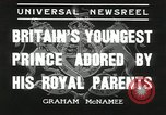 Image of Prince Edward London England United Kingdom, 1936, second 12 stock footage video 65675058813