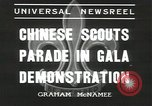 Image of Chinese scouts Shanghai China, 1936, second 2 stock footage video 65675058816