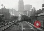 Image of  New York Central Mercury Train and locomotive Chicago Illinois USA, 1936, second 12 stock footage video 65675058818