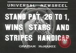 Image of Stars and Stripes handicap Chicago Illinois USA, 1936, second 2 stock footage video 65675058820