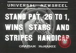 Image of Stars and Stripes handicap Chicago Illinois USA, 1936, second 5 stock footage video 65675058820