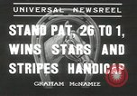 Image of Stars and Stripes handicap Chicago Illinois USA, 1936, second 7 stock footage video 65675058820