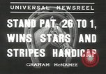 Image of Stars and Stripes handicap Chicago Illinois USA, 1936, second 9 stock footage video 65675058820