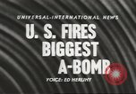 Image of atom bomb explosion Nevada United States USA, 1957, second 3 stock footage video 65675058822