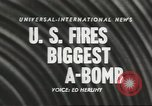 Image of atom bomb explosion Nevada United States USA, 1957, second 4 stock footage video 65675058822