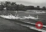 Image of water skiing Ottawa Ontario Canada, 1957, second 4 stock footage video 65675058826