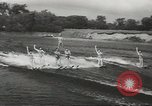 Image of water skiing Ottawa Ontario Canada, 1957, second 5 stock footage video 65675058826