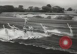 Image of water skiing Ottawa Ontario Canada, 1957, second 6 stock footage video 65675058826