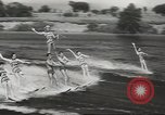 Image of water skiing Ottawa Ontario Canada, 1957, second 7 stock footage video 65675058826