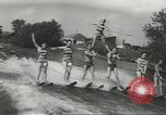Image of water skiing Ottawa Ontario Canada, 1957, second 9 stock footage video 65675058826