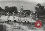 Image of water skiing Ottawa Ontario Canada, 1957, second 10 stock footage video 65675058826