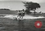 Image of water skiing Ottawa Ontario Canada, 1957, second 12 stock footage video 65675058826