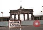 Image of Berlin Wall views from West Germany Berlin West Germany, 1980, second 20 stock footage video 65675058827