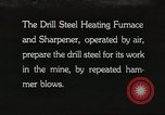 Image of drill steel heating furnace United States USA, 1921, second 1 stock footage video 65675058839