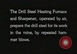 Image of drill steel heating furnace United States USA, 1921, second 7 stock footage video 65675058839