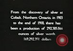 Image of silver mining Ontario Canada, 1920, second 10 stock footage video 65675058840