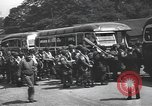 Image of US 82nd Airborne Division paratroopers board buses in England European Theater, 1944, second 3 stock footage video 65675058843