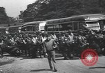 Image of US 82nd Airborne Division paratroopers board buses in England European Theater, 1944, second 4 stock footage video 65675058843