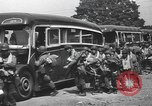 Image of US 82nd Airborne Division paratroopers board buses in England European Theater, 1944, second 6 stock footage video 65675058843