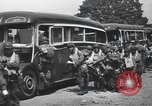Image of US 82nd Airborne Division paratroopers board buses in England European Theater, 1944, second 7 stock footage video 65675058843