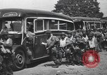 Image of US 82nd Airborne Division paratroopers board buses in England European Theater, 1944, second 8 stock footage video 65675058843
