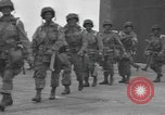 Image of 502nd Parachute Infantry Regiment, 101st Airborne Division England, 1944, second 5 stock footage video 65675058878