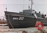 Image of patrol boat Normandy France, 1944, second 1 stock footage video 65675058886