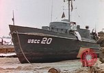 Image of patrol boat Normandy France, 1944, second 2 stock footage video 65675058886