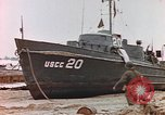 Image of patrol boat Normandy France, 1944, second 3 stock footage video 65675058886
