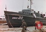 Image of patrol boat Normandy France, 1944, second 4 stock footage video 65675058886